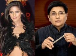 Kiran Bedi Denies Sending Invitation To Poonam Pandey
