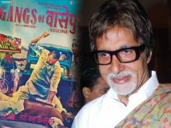 Amitabh Praises Anurag For Gangs Of Wasseypur In Blog
