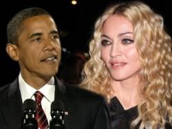 Madonna Showed Off Obama Tattoo On Her Back