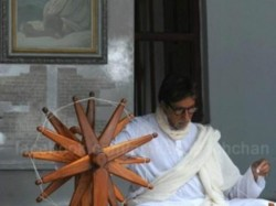 Amitabh Bachchan Goes Gandhi Way