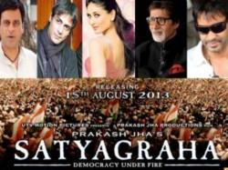 Amitabh Bachchan Ajay Devgan Prakash Jha Satyagraha