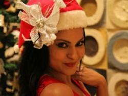 Veena Malik Turned Santa Claus Christmas Photoshoot Why