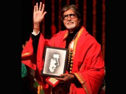 Amitabh Bachchan Felicitated University Mumbai