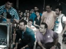 Salman Khan Participated Car Free Campaign