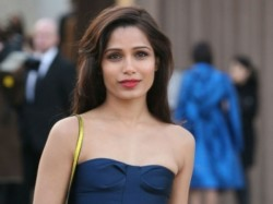 Freida Pinto Connects With Fans Via Social Networking
