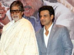 Manoj Bajpai Prefers Doing Negative Role Opposite Amitabh Bachchan