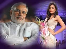 Miss Asia Pacific World Srishti Rana Wishes Modi Wants Him Be Pm