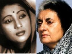 Indira Gandhi Afraid Of Suchitra Sen S Bollywood Movie Aandhi