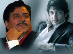 Forgetting Political Rivalry Shatrughan Sinha Met Sekhar Suman Lse