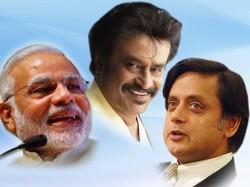Shashi Tharoor Mocks At Narendra Modipmeeting With Rajnikanth Lse
