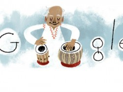 Google Doodles Marks Ustad Alla Rakha S 95th Birthday
