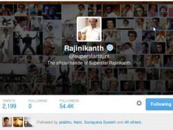 Superstar Rajinikanth S Fastest 50 On Twitter