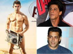 Salman And Shahrukh In Trouble Because Of Aamir Pk Nude Poster