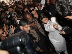 Kim Kardashian Attacked Prankster At Paris Fashion Week