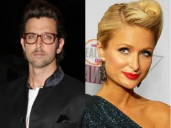 Hrithik Roshan Enjoys Night Out Paris Hilton