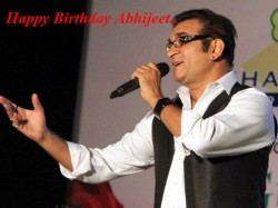 Happy Birthday Singer Abhijeet Bhattacharaya