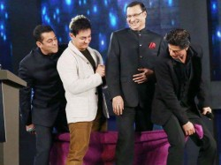 Shahrukh Salman Kissed Rajat Sharma Together