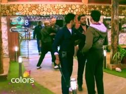Bigg Boss 8 Puneet Preetam Fights For Dimpy