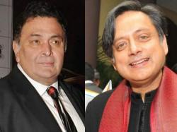 Rishi Kapoor Asked Shashi Tharoors Caste Bullied Him