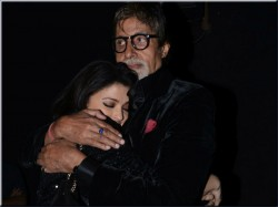 Aishwarya Rai Hugged Amitabh Bachchan After Watching Shamitabh