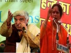 Javed Akhtar Said Now Sadhvi Prachi Will Know That Hindu Dont Follow Them