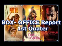 Box Office First Quarter 2015 Dissappointed Baby Badlapur Hit