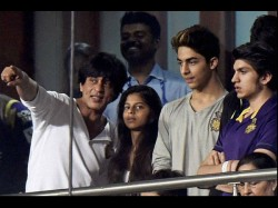 Did You Know Shahrukh Khan Abram Made Suhana Aryan Feel Ignored At Ipl