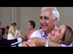 Viral Video Congress Leader Salman Khurshid Romances German Beauty