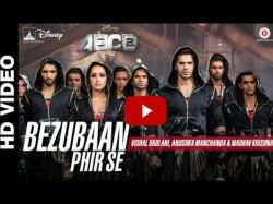 Video Varun Dhawan Shraddha Kapoor Abcd 2 Song Bezubaan