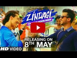 Video Tiger Shroff S Aa Raha Hoon Main Zindagi Song Is Must Watch