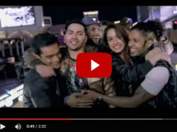 Video Abcd 2 Song Sun Saathiya Shraddha Kapoor Is Snoozefest