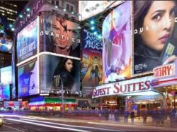 Priyanka Chopra Quantico Posters Over New York City