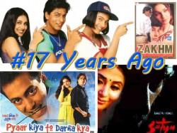 Bollywood Films In 1998 Shahrukh Khan Kuch Kuch Hota Hai