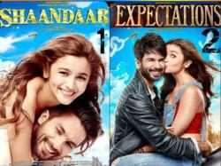 Expectations From Shahid Kapoor Alia Bhatt S Shaandaar 050798 Pg