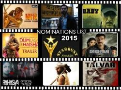 Stardust Awards Nominations List Akhay Kuamr Ajay Devgn Missing