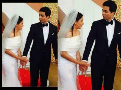 First Picture Asin Rahul Sharma Church Wedding