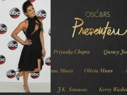Priyanka Chopra Makes It The Oscars List Of Presentees