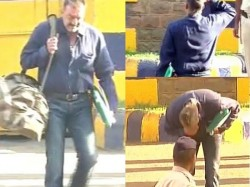 Sanjay Dutt Walks Free Man From Yerwada Jail The First Word He Says