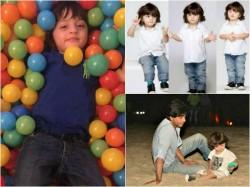 Cutest Pics Of Shahrukh Khan Son Abram On His Third Birthday