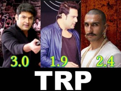 Bajirao Mastani Was Crushed The Kapil Sharma Show Trp