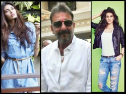 Athiya Shetty Kriti Sanon Compete Play Sanjay Dutt S Daughters
