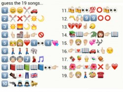 Guess Bollywood Songs Coded Watsapp Emoji Signs