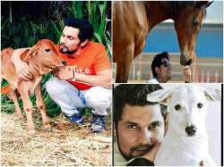 Cutest Pics Of Randeep Hooda With Animals