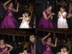 See The Ruhaanika Dance In Divyanka Tipathi Reception