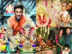 Bollywood Stars Ganesh Chaturthi Celebration Pics