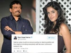 Ram Gopal Verma Supports Katrina Kaif Over Smita Patil Award
