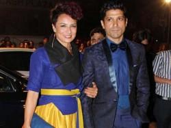Farhan Akhtar Adhuna Bhabani Spotted At Mumbai S Divorce Court