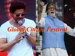 Global Citizen India Festival 2016 Bollyood Stars Shahrukh Amitabh
