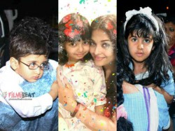 Aaradhya Bachchan 5th Birthday Party In Mumbai See Pics