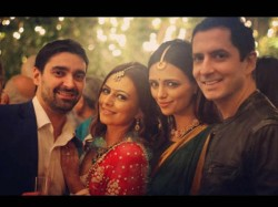 Tv Actress Roshni Chopra S Sister Deeya Chopra Tied Knot With Richie Mehta
